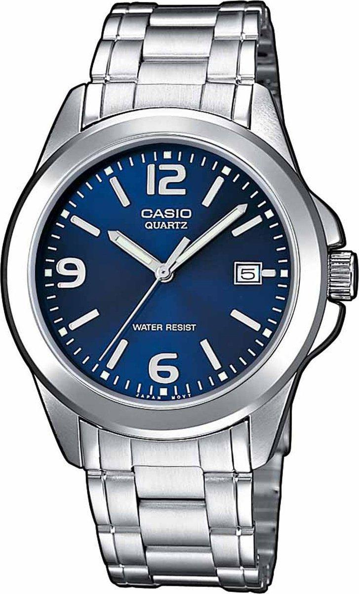 CASIO Collection - MTP-1259PD-2AEF, Silver case with Stainless Steel Bracelet