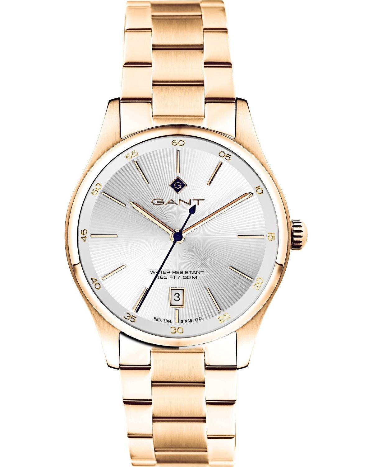 GANT Arlington Ladies - G124003, Gold case with Stainless Steel Bracelet