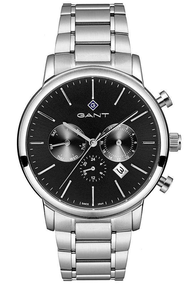 GANT Cleveland - G132001, Silver case with Stainless Steel Bracelet