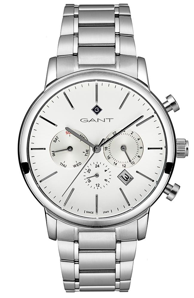 GANT Cleveland - G132002, Silver case with Stainless Steel Bracelet