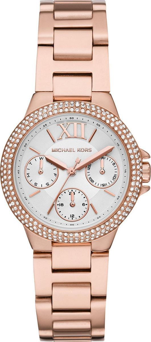 MICHAEL KORS Camille Crystals - MK6845, Rose Gold case with Stainless Steel Bracelet