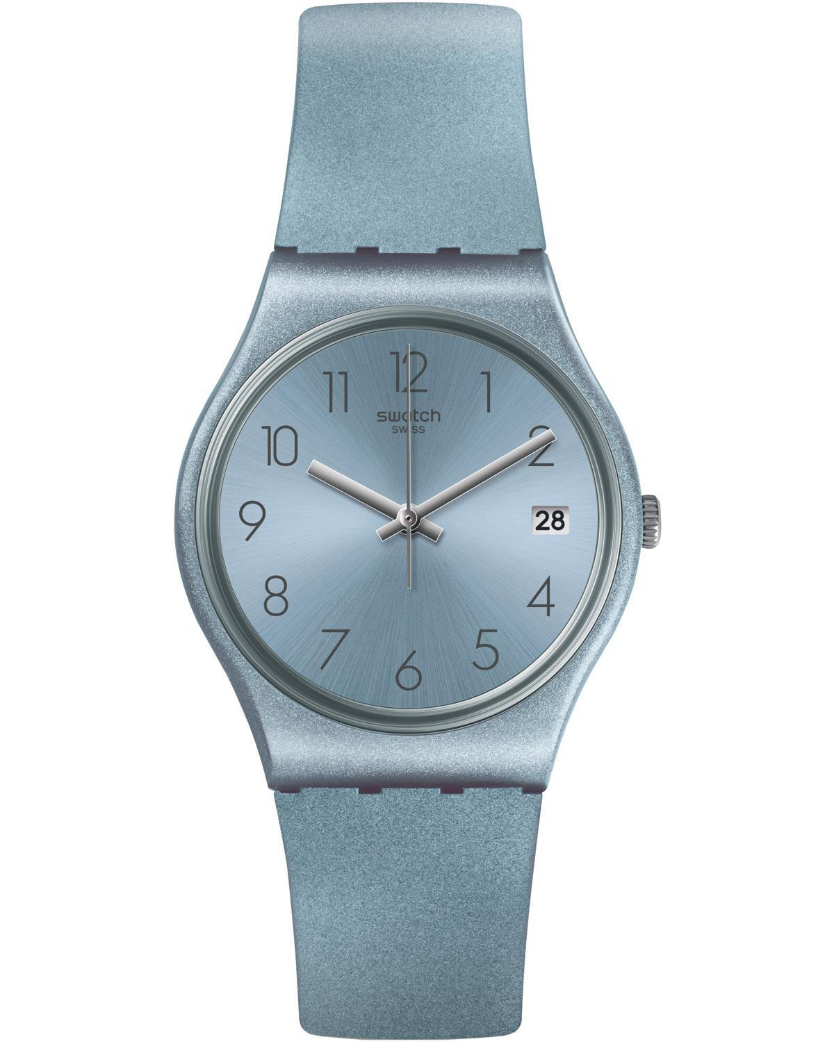 SWATCH Azulbaya - GL401 Light Blue Case with Light Blue Rubber Strap