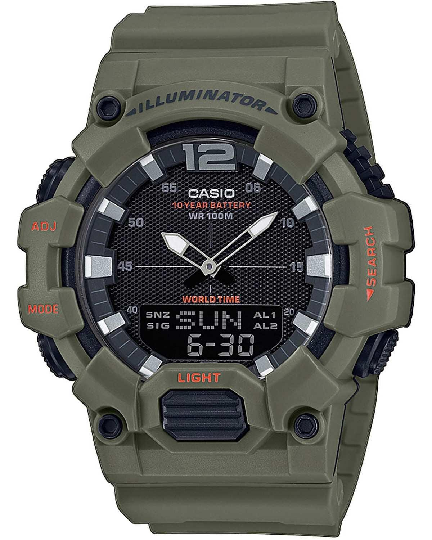 CASIO G-Shock Chronograph - HDC-700-3A2VEF Khaki case with Khaki Rubber Strap