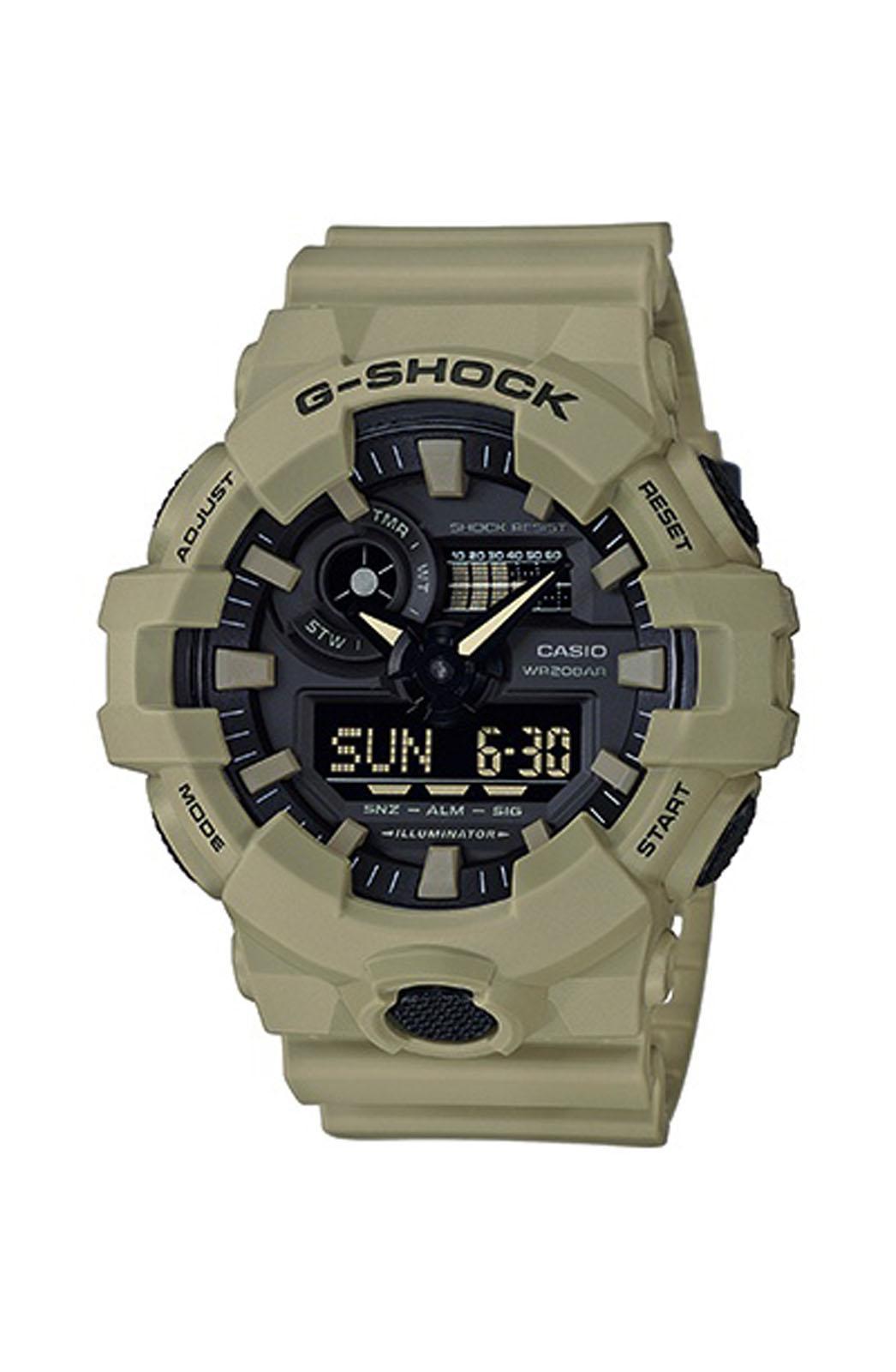 CASIO G-Shock - GA-700UC-5AER , Beige case with Beige Rubber Strap