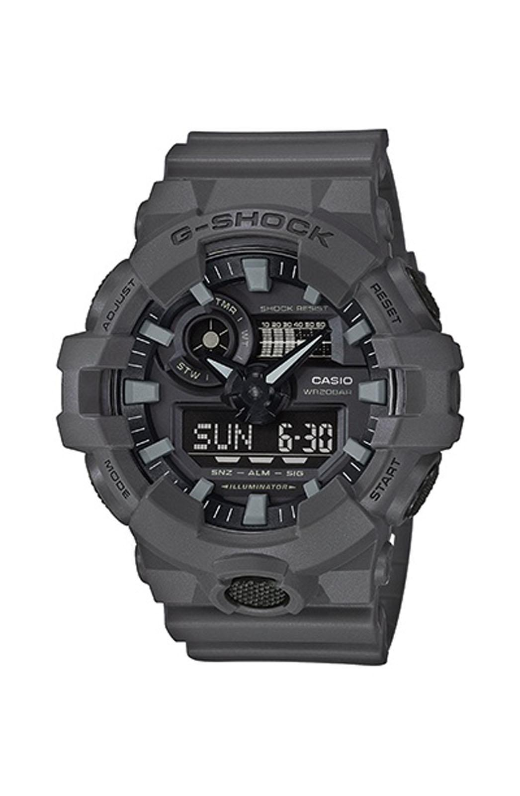 CASIO G-Shock - GA-700UC-8AER , Grey case with Grey Rubber Strap