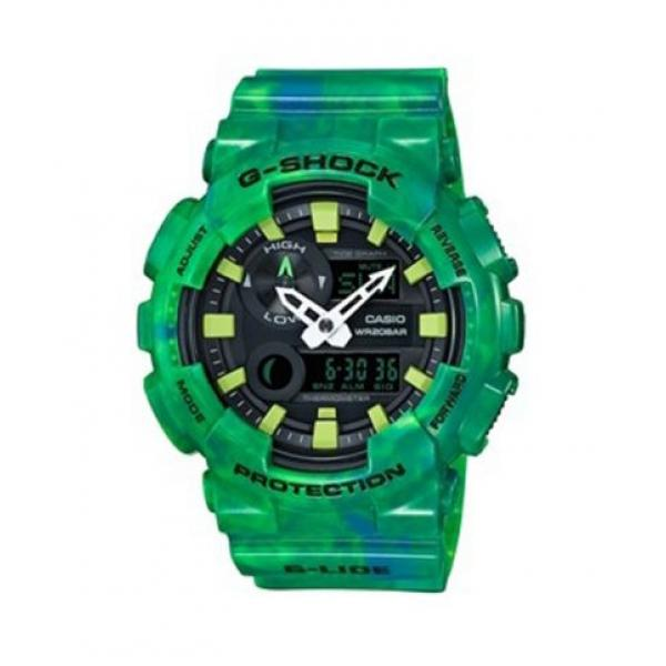 CASIO G-Shock - GAX-100MB-3AER Green case, with Green Rubber Strap