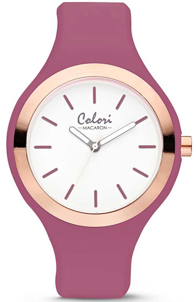 COLORI Macaron - COL505 Purple case with Purple Rubber Strap