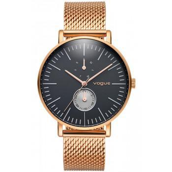 VOGUE Mirror Multifunction - 550754 Rose Gold case with Stainless Steel  Bracelet 081ec46e9c1