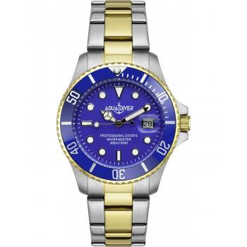 AQUADIVER Water Master - 14584184 , Silver case with Stainless Steel Bracelet