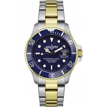 AQUADIVER Water Master - 14584184DB , Silver case with Stainless Steel Bracelet