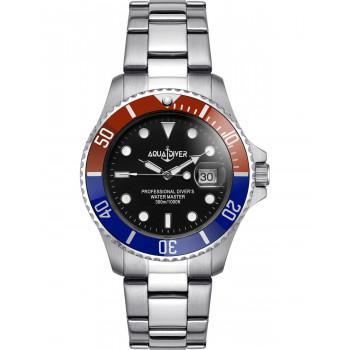 AQUADIVER Water Master - 14584282 , Silver case with Stainless Steel Bracelet