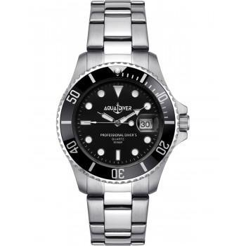 AQUADIVER Water Master - 14584296 , Silver case with Stainless Steel Bracelet