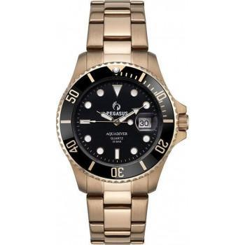 AQUADIVER Water Master - 14585396 , Rose Gold case with Stainless Steel Bracelet