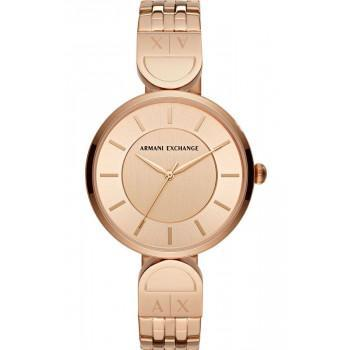 ARMANI EXCHANGE Brooke Lady - AX5328  Rose Gold case with Stainless Steel Bracelet
