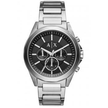 ARMANI EXCHANGE Drexler Chronograph - AX2600, Silver case with Stainless Steel Bracelet