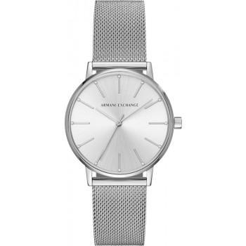 ARMANI EXCHANGE Lady - AX5535  Silver case with Stainless Steel Bracelet