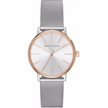ARMANI EXCHANGE Lola Crystals - AX5537,  Rose Gold case with Stainless Steel Bracelet