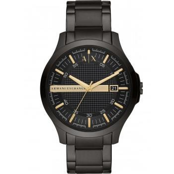ARMANI EXCHANGE Mens - AX2413,  Black case with Stainless Steel Bracelet