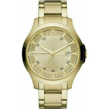 ARMANI EXCHANGE  Mens - AX2415, Gold case with Stainless Steel Bracelet