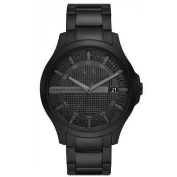 ARMANI EXCHANGE  Mens - AX2427, Black case with Stainless Steel Bracelet