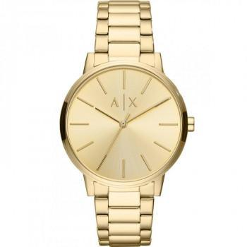 ARMANI EXCHANGE Mens - AX2707,  Gold case with Stainless Steel Bracelet