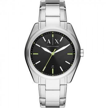 ARMANI EXCHANGE Mens - AX2856, Silver  case with Stainless Steel Bracelet