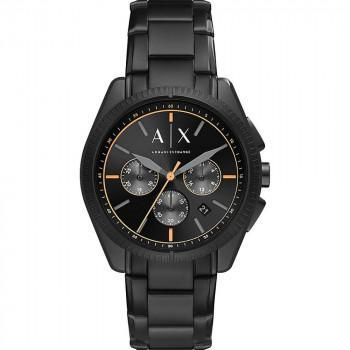 ARMANI EXCHANGE Mens Chronograph - AX2852, Silver case with Stainless Steel Bracelet