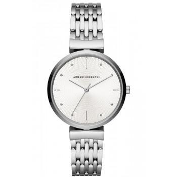 ARMANI EXCHANGE Zoe Lady - AX5900  Silver case with Stainless Steel Bracelet
