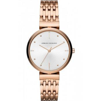 ARMANI EXCHANGE Zoe Lady - AX5901  Rose Gold case with Stainless Steel Bracelet