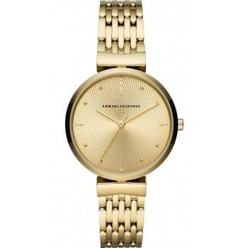 ARMANI EXCHANGE Zoe Lady - AX5902  Gold case with Stainless Steel Bracelet