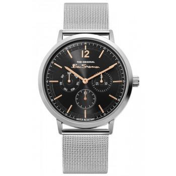 BEN SHERMAN The Originals  - BS011ESM,  Silver case with Stainless Steel Bracelet