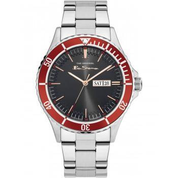BEN SHERMAN The Originals - BS045SM,  Silver case with Stainless Steel Bracelet