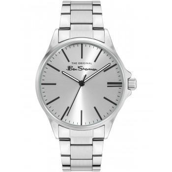 BEN SHERMAN The Originals  - BS048SM,  Silver case with Stainless Steel Bracelet