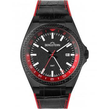 BERGSTERN Active - B060G278  Black case with Black Leather