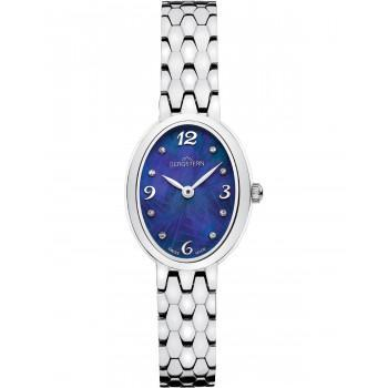 BERGSTERN Brilliance Crystals - B052L244,  Silver case with Stainless Steel Bracelet