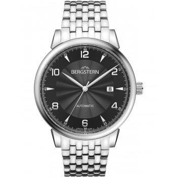 BERGSTERN Harmony Automatic - B048G229,  Silver case with Stainless Steel Bracelet