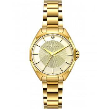 BREEZE Hermosa  - 212151.2  Gold case with Stainless Steel Bracelet