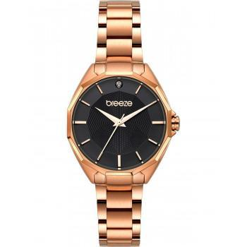 BREEZE Hermosa  - 212151.6  Rose Gold case with Stainless Steel Bracelet