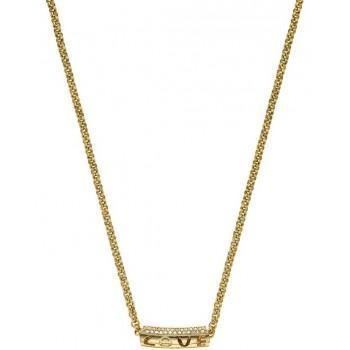 BREEZE Κολιέ από ανοξείδωτο ατσάλι Gold  410048.1