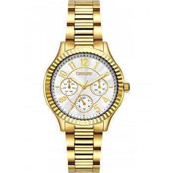 BREEZE Suprecious - 212171.2  Gold case with Stainless Steel Bracelet
