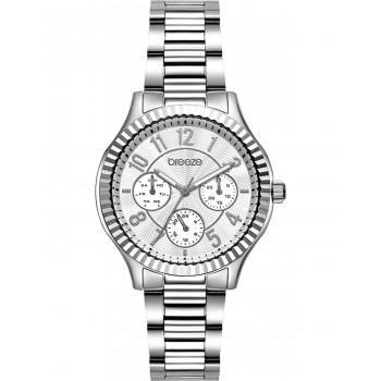 BREEZE Suprecious - 612171.1  Silver case with Stainless Steel Bracelet