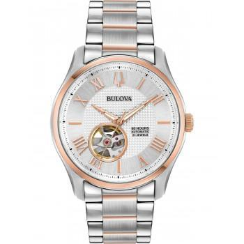BULOVA Mechanical Collection Automatic - 98A213  Silver case  with Stainless Steel Bracelet