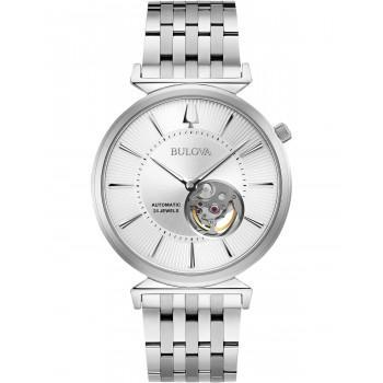 BULOVA Mechanical Collection Regatta  Automatic  - 96A235  Silver case with Stainless Steel Bracelet