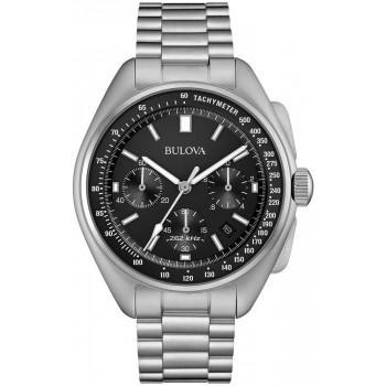 Bulova  Special Edition Moonwatch Chrono -  96B258   Silver case with Stainless Steel Bracelet