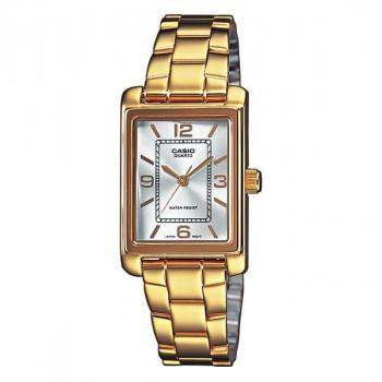 CASIO Collection - LTP-1234PG-7AEF,  Gold case with Stainless Steel Bracelet
