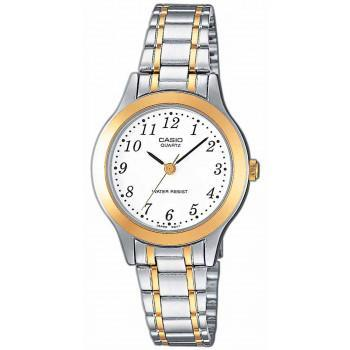 CASIO Collection - LTP-1263PG-7BEF,  Silver case with Stainless Steel Bracelet