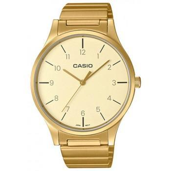 CASIO Collection - LTP-E140GG-9BEF,  Gold case with Stainless Steel Bracelet