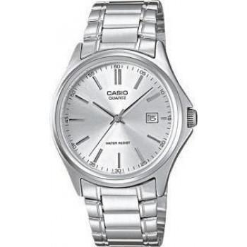 CASIO Collection - MTP-1183PA-7AEF,  Silver case with Stainless Steel Bracelet