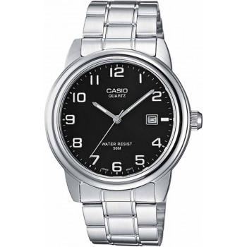 CASIO Collection - MTP-1221A-1AV,  Silver case with Stainless Steel Bracelet