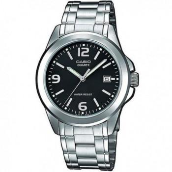 CASIO Collection - MTP-1259PD-1AEF, Silver case with Stainless Steel Bracelet